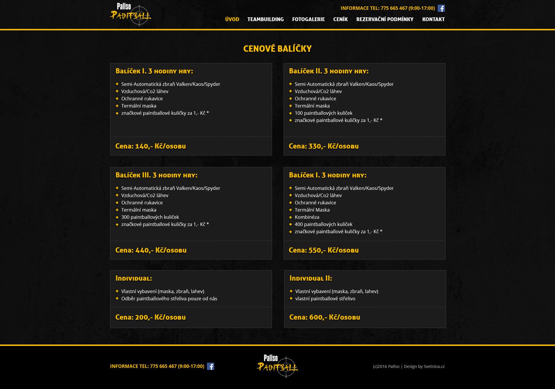 pallso-paintball-webdesign-cenik