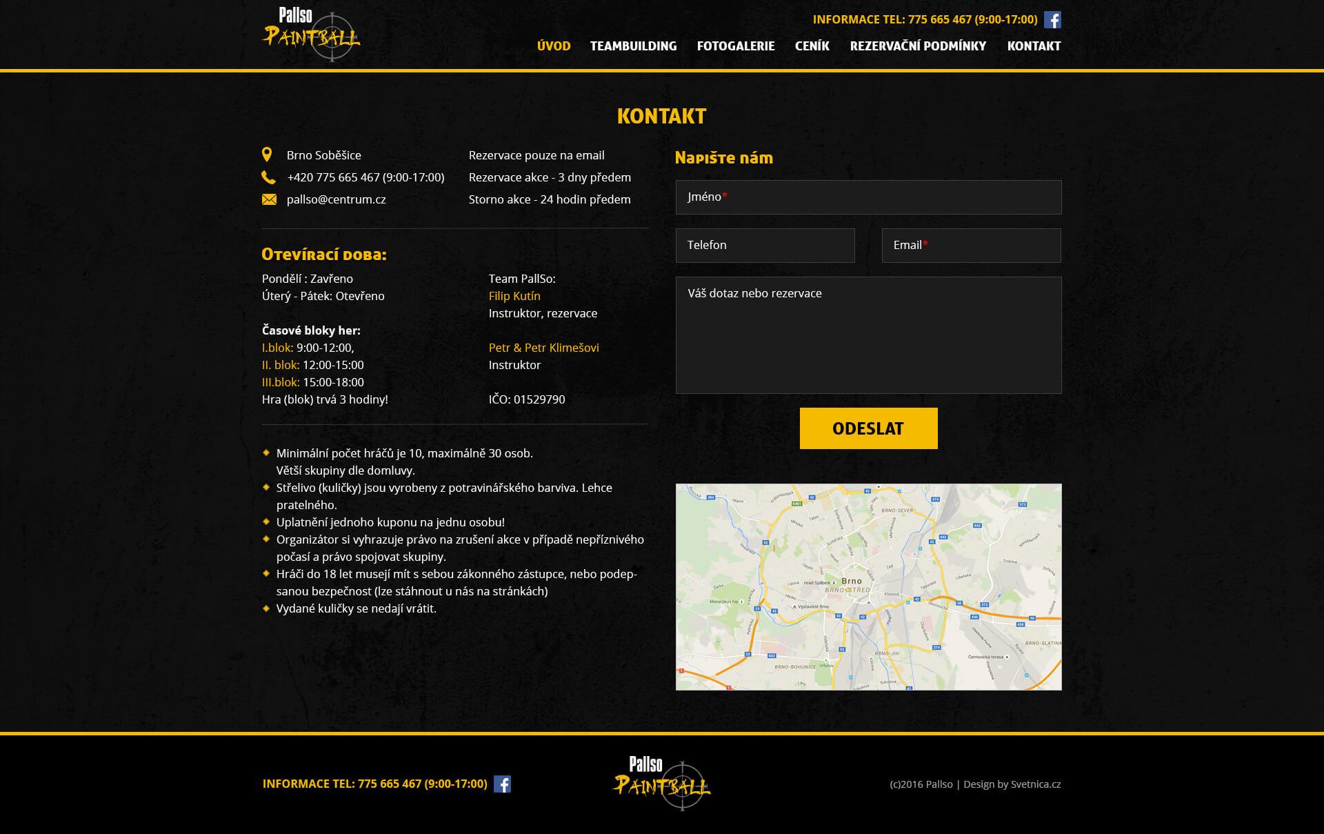 pallso-paintball-webdesign-kontakt