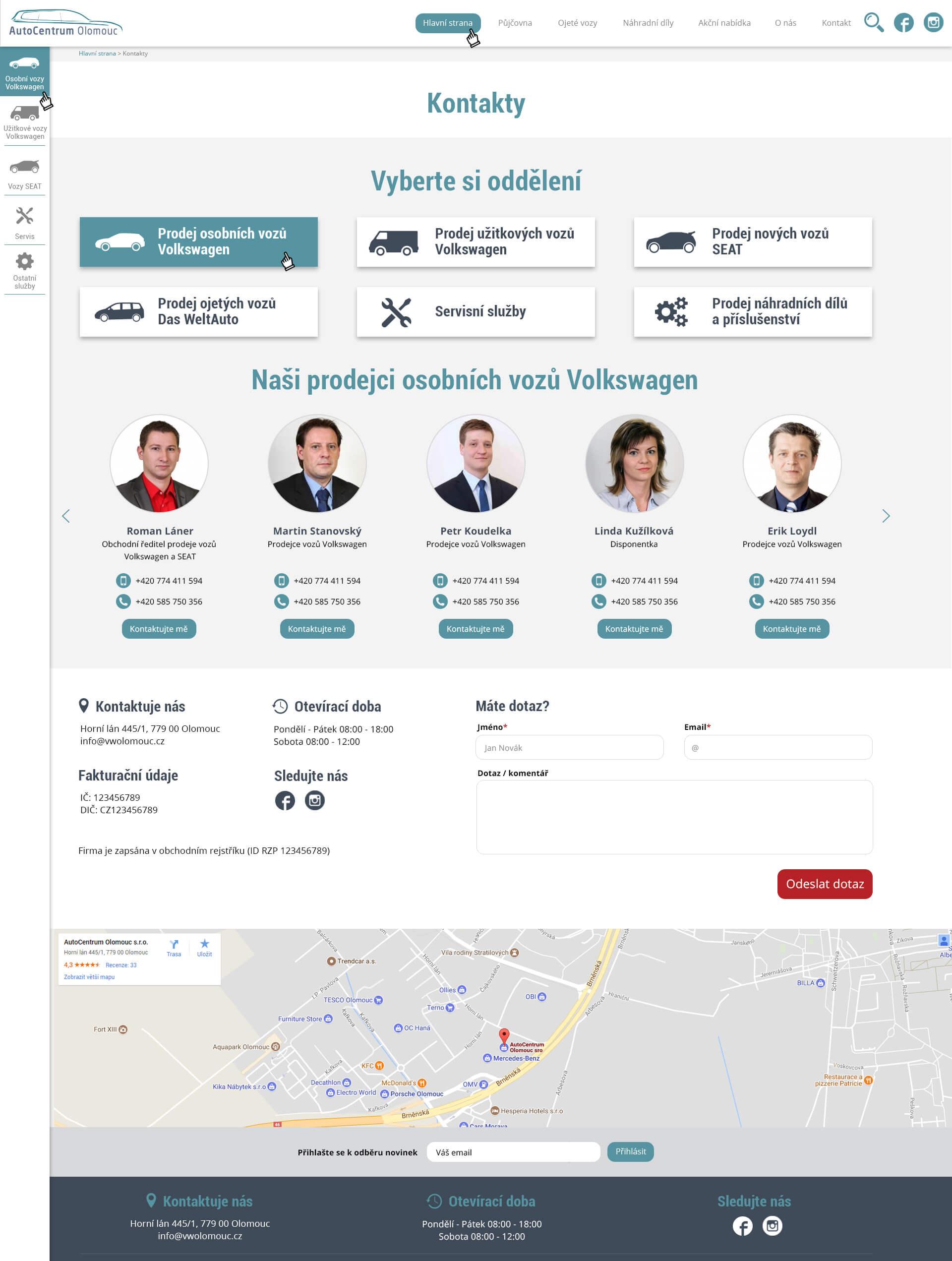 webdesign-autocentrum-olomouc-kontakty